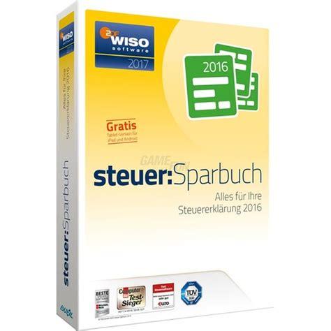 riester steuer rechner buhl wiso steuer sparbuch 2017 f 252 r steuerjahr 2016 1 pc