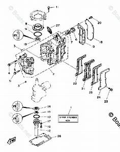 Yamaha Outboard Parts By Hp 6hp Oem Parts Diagram For