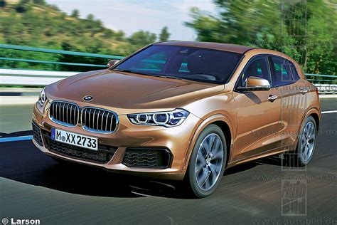 Bmw X2 Rendered; Coming In 2017