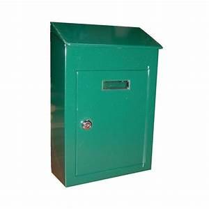 Boite Au Lettre Originale : bo te aux lettres campagne vert 112273 decayeux ~ Dailycaller-alerts.com Idées de Décoration