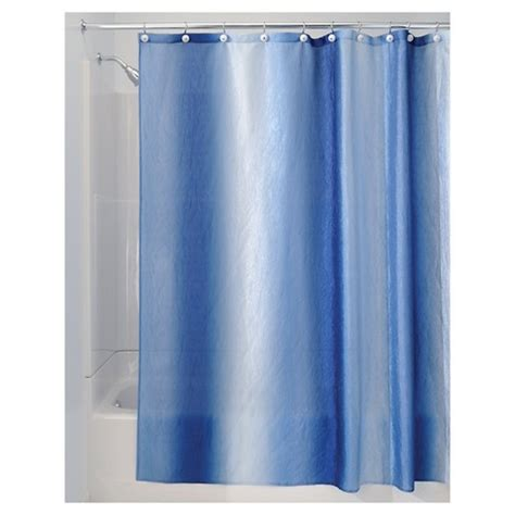 Ombre Shower Curtain - interdesign ombre polyester shower curtain target