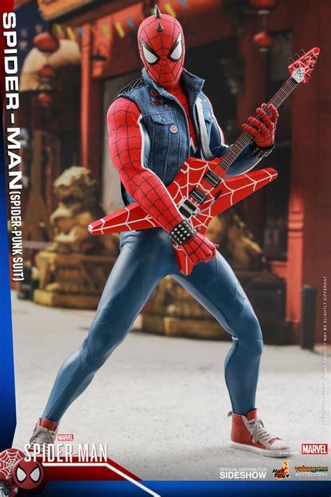 marvels spider man spider man spider punk suit