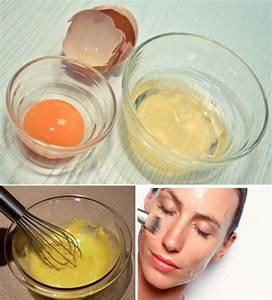 Маска для лица из яйца от морщин и пор