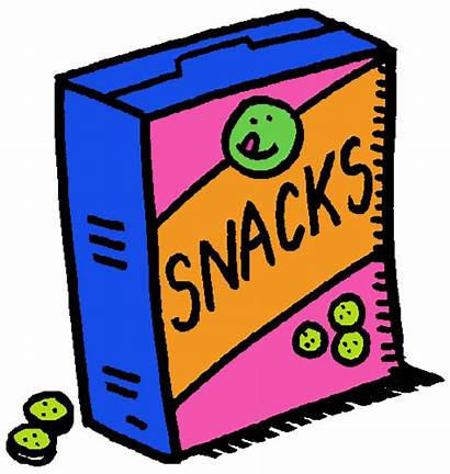 Snack Clip Clipart Candy Cookies Snacks Fruit