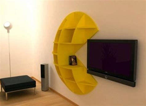 Funky Book Shelf Inspired By Pacman