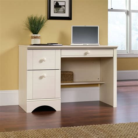Sauder Harbor View Computer Desk With Hutch by Total Fab Desks With File Cabinet Drawer For Small Home