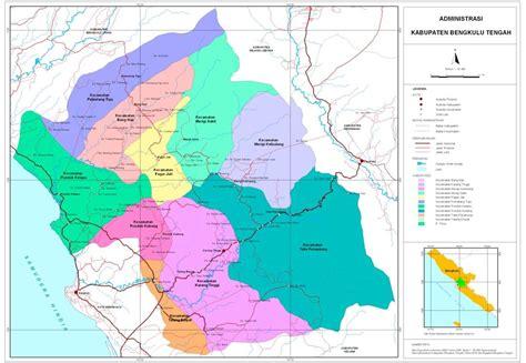 peta kota peta kabupaten bengkulu tengah