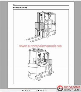 Auto Repair Manuals  Toyota Forklift Truck Full Set Manual Dvd