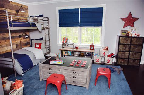 Amazing Industrial Kids Bedroom Design