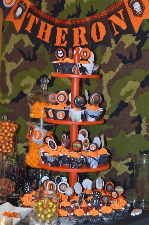call  duty black ops birthday party call  duty