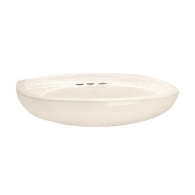 american standard colony sink american standard colony 24 in oval pedestal sink with 4