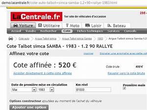 Calcul Cote Auto : cote de la samba rallye sur la ~ Gottalentnigeria.com Avis de Voitures