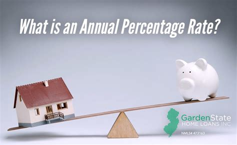 garden state loans what is an annual percentage rate garden state home loans