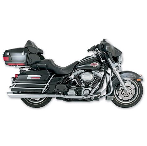 Vance And Hines Dresser Duals by Vance Hines Dresser Duals Exhaust Chrome 541 414 J P
