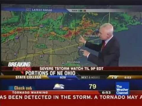 eas tornado warning twc coverage  severe wx outbreak