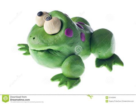 grenouille en pate a modeler grenouille de p 226 te 224 modeler image libre de droits image 21345946