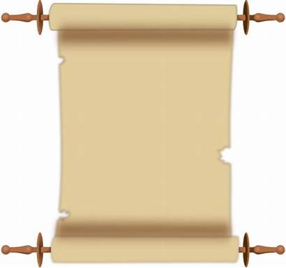 Scroll Clip Clipart Vector Ancient Border Clker