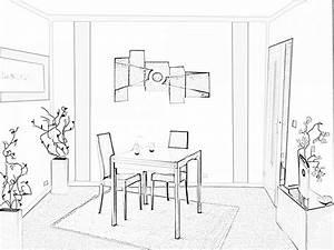 coloriage salle a manger les beaux dessins de autres a With dessin salle a manger