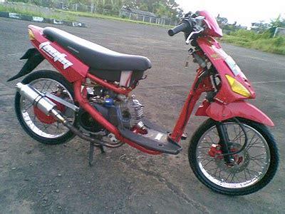 Motor Drag Mio Sporty by Modifikasi Mio Drag Race Modif Mio Sporty Model Balap