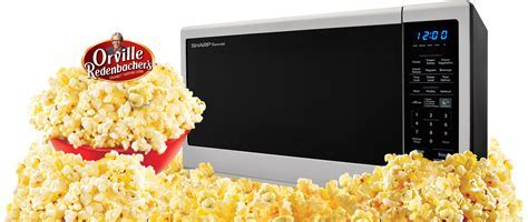 SHARP Orville Redenbacher's Microwave Ovens for Popcorn