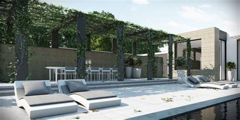 Poolside sun patio   Interior Design Ideas.