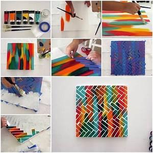 Diy, Creative, Painting, Wall, Art