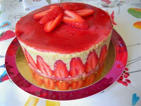 herve cuisine fraisier anniversaire24 gateau d anniversaire fraisier