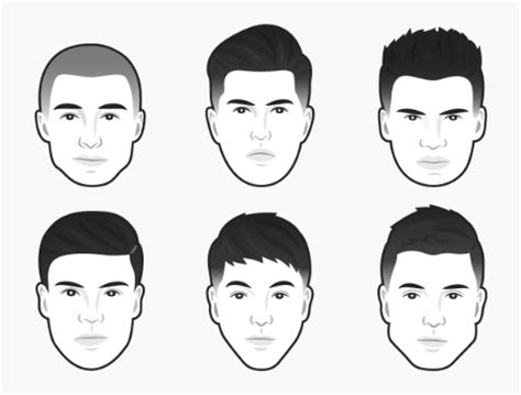mens haircut   face shape  independent