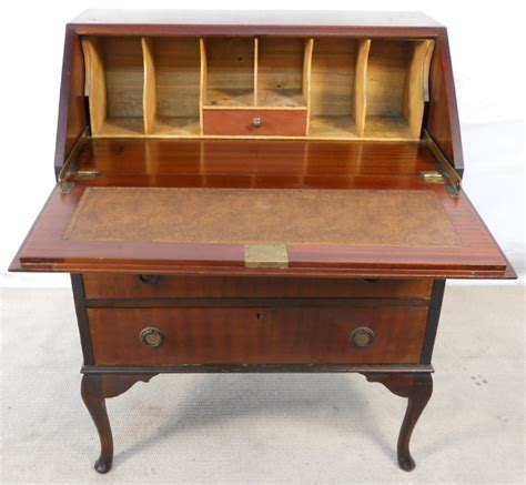 bureau style vintage sold bureau workstation mahogany bureau desk in the