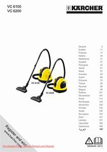 Karcher Vc 6100 Vacuum Cleaner User Instructions And