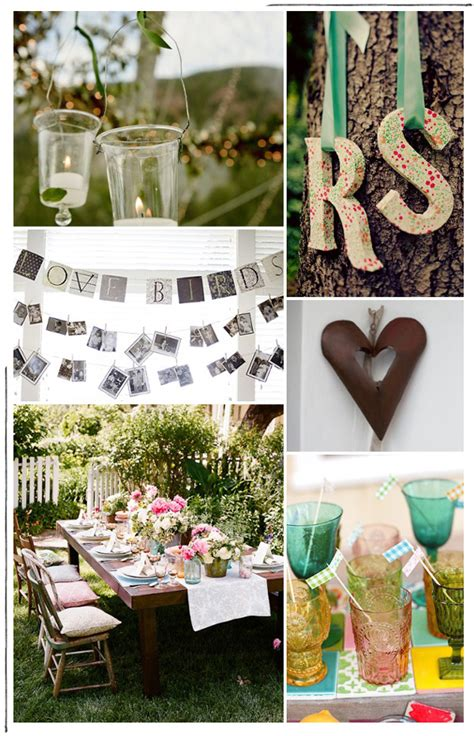 Backyard Engagement Party Ideas Marceladickcom