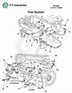Truck Diesel Engine Fuel System Diagram