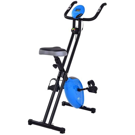 Goplus Magnetic Resistance Upright Exercise Bike Flywheel ...
