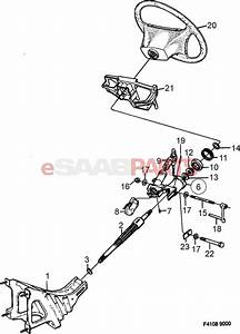 32021990  Saab Steering Column Bushing C900 9000