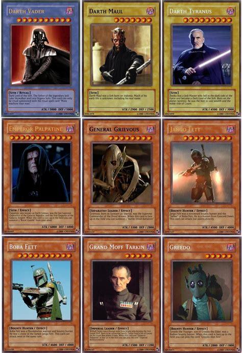 Starwars Yugioh Custom Cards 1 By Lordsmog On Deviantart