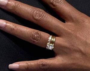 Michelle obama rocks kimberly mcdonald jewelry at the 2013 for Michelle obama wedding ring