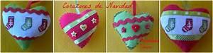 Imagenes De Corazones Navideos Corazones Navideos