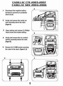 2006 Cadillac Srx Installation Parts  Harness  Wires  Kits