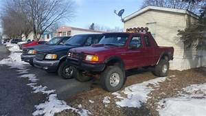 1994 Ford Ranger Stx Ext Cab 4x4 Lifted Solid Front Axle