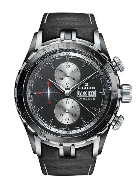 edox grand ocean chronograph automatic day date   nin