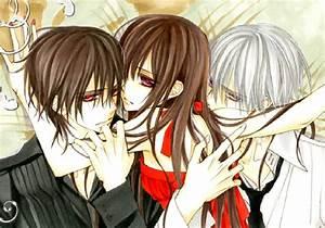 Image - Kaname, Yuuki, Zero.jpg - Vampire Knight Wiki