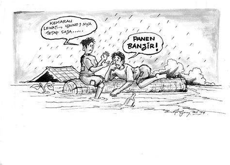Pernah kah kalian membuat sketsa gambar pemandangan ? YAYASAN PALUNG: Banjir-Sampah, Apa dan Siapa yang Salah?