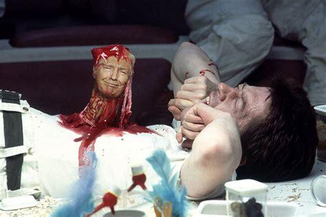 trump donald movie horror scenes classic monster stars alien