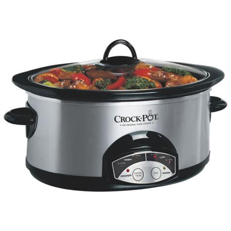 best crock pot to buy crock pot programmable cooker 6qt cookers best buy canada