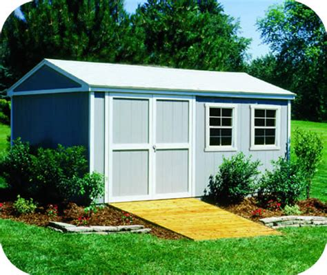 sheds for less handy home somerset 10x16 wood storage shed w floor 18506 9