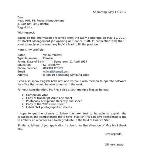 surat pengalaman kerja bahasa inggris dan contoh teks