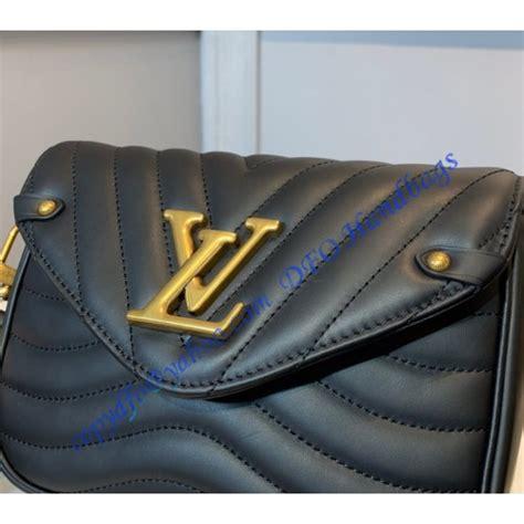 louis vuitton  wave multi pochette  black luxtime dfo handbags