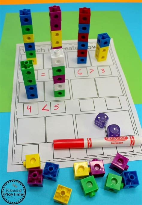 preschool math videos comparing numbers worksheets planning playtime 543