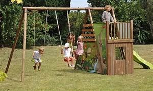 Aire De Jeux Soulet : aire d ejeux en bois pour enfants mod le chantemerle soulet ~ Melissatoandfro.com Idées de Décoration