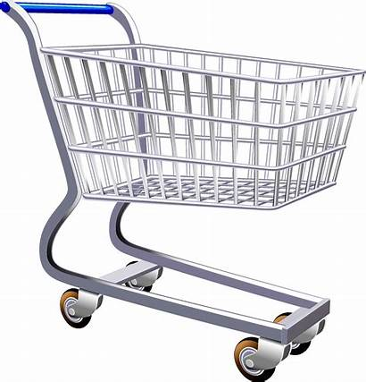 Grocery Shopping Clipart Supermarket Clip Transparent Cart